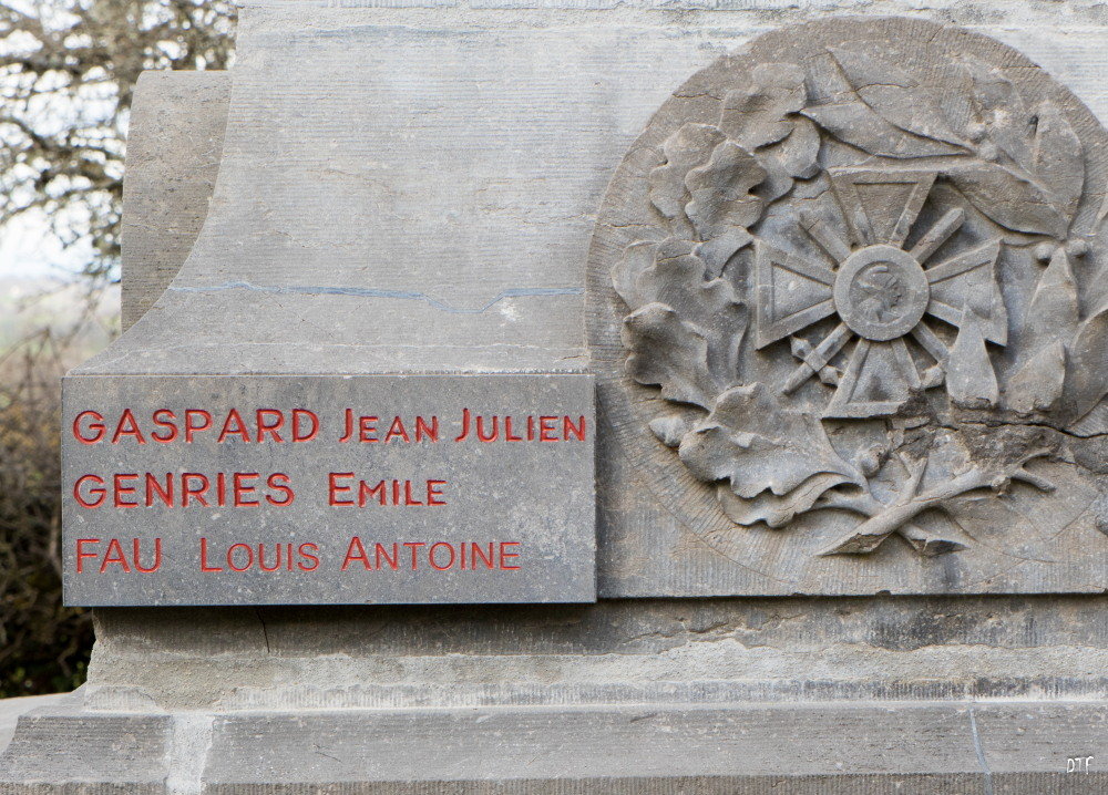 Louis Antoine  Fau plaque