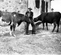 arriere-grand-pere-Antoine-Vizet-en-1955-buron-champagnac