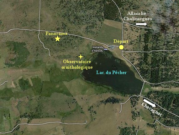 Plan lac pecher