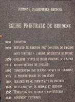 plaquebredon