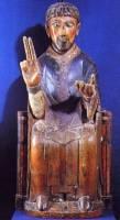 Bredons_statue_st_pierre