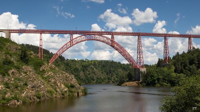 Le Viaduc de Garabit (Ruynes en Margeride et Val d'Arcomie)